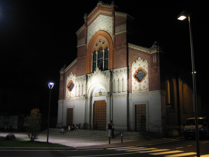 San Francesco - Gallarate: illuminazione standard