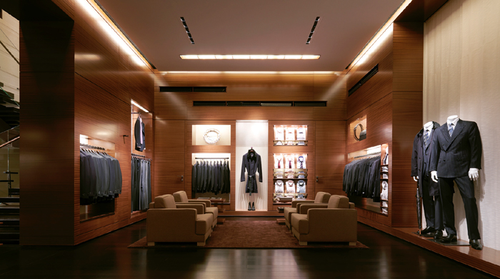 Showroom Ermenegildo Zegna- Milano - photo Matteo Piazza